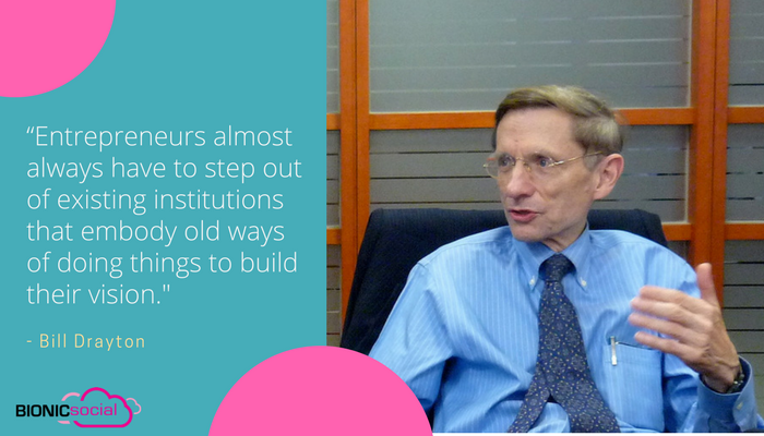 BILL DRAYTON - next steps