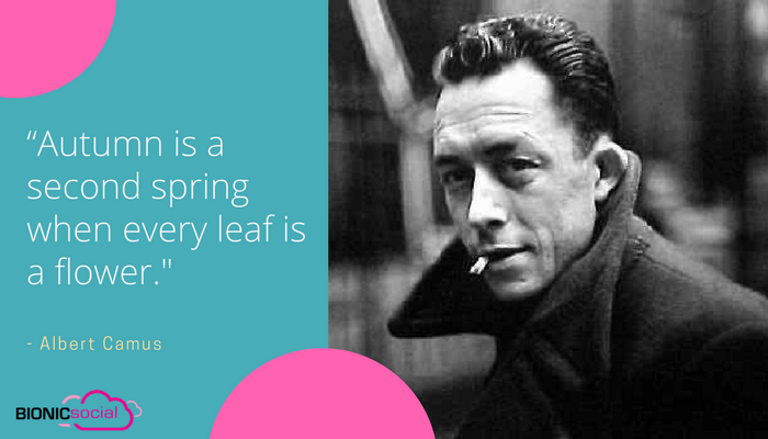 ALBERT CAMUS - autumn
