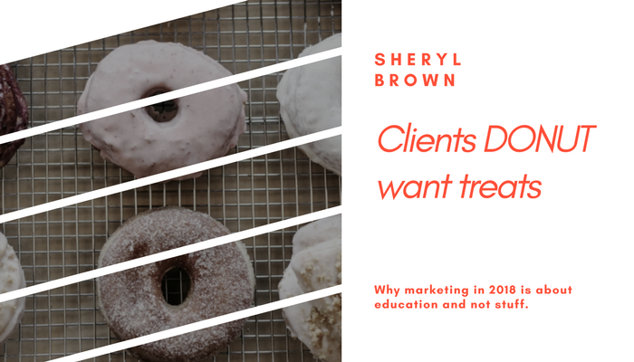 2018 - Clients donut want treats