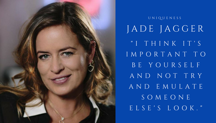 2018 JADE JAGGER - uniqueness