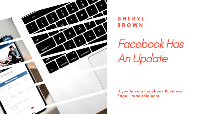 2018 - Facebook Business Page Update