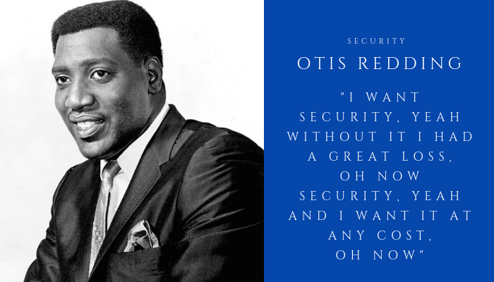 2018 OTIS REDDING - security