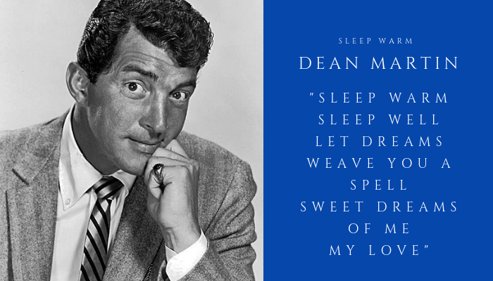 2019 DEAN MARTIN - sleep warm