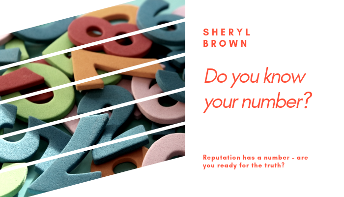 2019 - Do You Know Your Number by Sheryl Brown