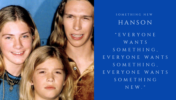 2019 HANSON - something new