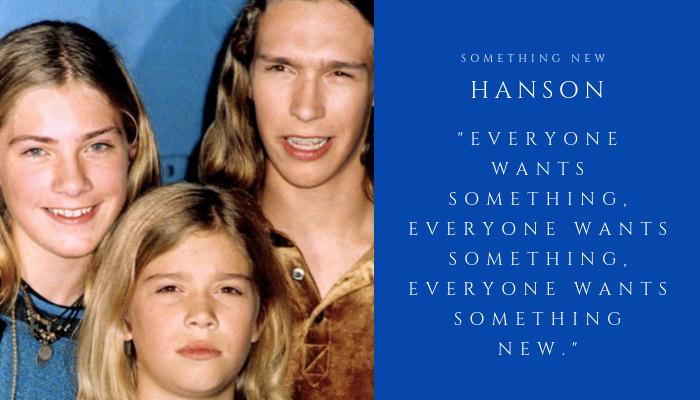 2019 HANSON - something new